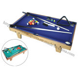 Children Playing Mini Billiard Snooker Pool Table