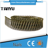 15 Degree Bright Screw Shank Wire Coil Nails