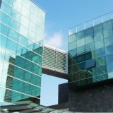 Architectural Configured Reflective Low E Glass Curtain Wall Section