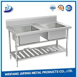 OEM Metal Punching Terminal Stamping Parts Stainless Steel Single Bowl Undermount Kitchen Sinks