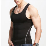 Men′s Bodybuilding Fitness Gyms Cotton/Spandex T-Shirt Sports Breathable Top Tee