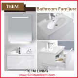 Modern Hot Sale Floor Standing Double Sinks Wooden Bathroom Cabinet
