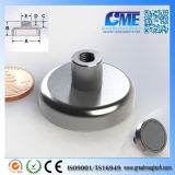 Strong N40 D31.75xh17.983mm High Quality NdFeB Potn08 Magnet