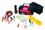 Car Emergency Tool Kit with Jump Starter