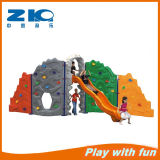 Climbing Wall Kids Play with Slide