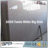 G655 Tomie White Granite Slab for Tiles