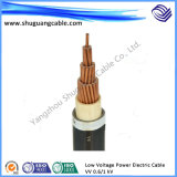 Low Voltage PVC Insulation and Sheath Plastic Electrical Power Cable