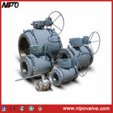 Cast Steel Trunnion Floating Ball Valve