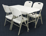 4ft Cheap Plastic Folding Table/Restaurant Table/Banquet Table /Dining Table (SY-122C)