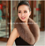 Colorful Real Fox Fur Collar for Your Choose