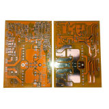 Double Sided PCB with Bright Solder Mask Ink
