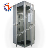 Stainless Steel 304 Medical Air Shower with Revolving Door