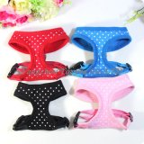 Fabric Dots Dog Harnesses Dog Clothes (YD004-5)