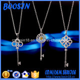 Wholesale 925 Sterling Silver Key Pendant Necklace