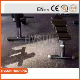 Made in The China Granulated Rubber Tile Great Use for Fitness Center