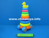 Promotional Gift Plastic Toys Duck Rainbow Rings (947007)