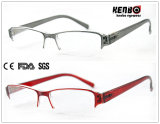 Hot Sale Half Frame Reading Glasses, CE, FDA, Kr5155