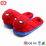 Spider Red Man Plush Kids Soft Warm Slippers
