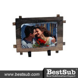 Bestsub Small Rectangular Sublimation Photo Rock Slate with Frame (SBBH38)