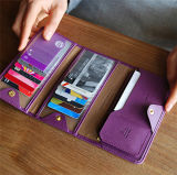 Enough Stock Fashion New Long Foldable Bank Business Card Holder