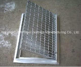 Trench Cover with Steel Grating