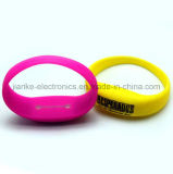 LED Flashing Motion Sensor Bangle with Logo Printed (4010)