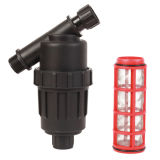 Garden Plastic Male & Female Screen Water Filter / Irrigation Strainer