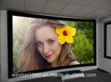 """150"""" 2.35: 1 Curved Fixed Frame Screen - Black Velvet Frame"""
