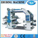 4 Color 600mm Flexographic Printing Machine