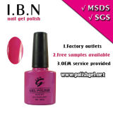 The Most Popular Color UV Gel 10ml Nail Polish Bottle Nail