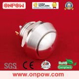 Onpow Metal Pushbutton Switch (GQ12B-10/J/S, 12mm, CE, RoHS)