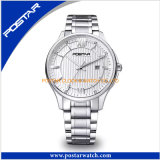 New Arrival Fashion Style Stainless Steel Watch Quartz Men′s Watch