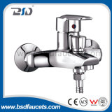 Baisida Cheaper Price Single Lever Brass Body Zinc Handle Wall Mounted Bath Shower Faucet