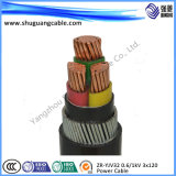 3 Cores XLPE Insulation PVC Sheath Swa Electric Power Cable