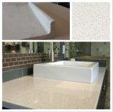 Quartz Modern Prefab Double Sink Laminated Bathroom Vanity Tops