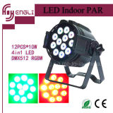 12PCS*10W 4in1 Stage LED PAR Lamp with CE & RoHS (HL-031)