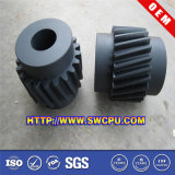 Plastic Mc Nylon Helical Gear with RoHS Certificate