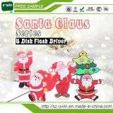 Santa Claus 16GB USB Flash Memory for Christmas Gift