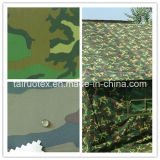 Coated Camouflage Printed Oxford Fabric with Waterproof
