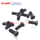 QC258 Black Oxide Hexagon Lobular Socket Countersunk Head Screws