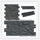 Black and Grey Culture Stone for Wall Cladding