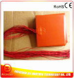 12/24V Dual Voltage 150W 200*200*1.5mm Silicone Rubber 3D Printer Heater 3m 100k 1000mm Lead