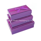 OEM Design Wholesale Christmas 3 PCS Gift Packaging Box