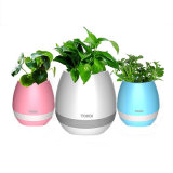 2017 New Arrival Smart Touch Sensitive Wireless Bluetooth Music Flowerpot
