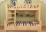 Solid Wooden Bed Room Bunk Beds Children Bunk Bed (M-X2203)