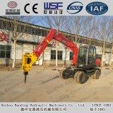 Baoding Modification Mini Wheel Excavator 0.2-0.35m3 Bucket