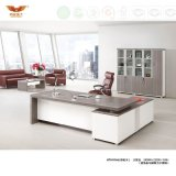 Modern Office Furniture L Shape Wooden Executive Desk (H70-0166)