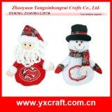 Christmas Decoration (ZY14Y50-1-2 27CM) Christmas Snowman Candy Bag Festival Christmas