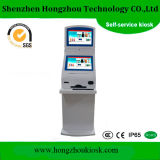 Dual Screen Bill Payment Kiosk with Cash Acceptor Cash Dispenser