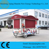 Patented Movable Custom Food Trailers Ce Approved with Beautiful Outlook